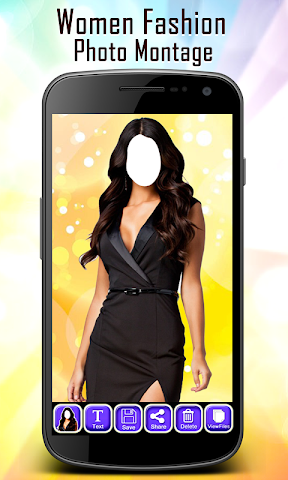 android Women Fashion Photo Montage Screenshot 4