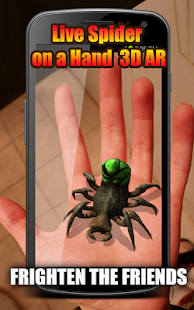 Live Spider on a Hand 3D AR APK for Bluestacks