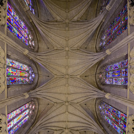 Duke Chapel by David Harris - Buildings & Architecture Places of Worship ( gothic, church, arches, duke, chapel, stained glass )