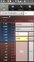Screenshot of 증권통 이베스트투자증권 거래 모듈