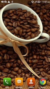 Aromatic Coffee LWP - screenshot