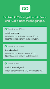 Transit - Bahn, Bus, Tram Screenshot