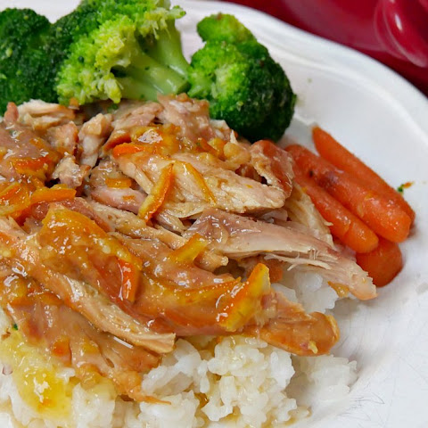 Easy Slow Cooker Orange Chicken Thighs