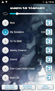 Gangsta Rap Ringtones - screenshot