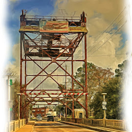DRAW BRIDGE by Ron Olivier - Digital Art Places ( draw bridge )