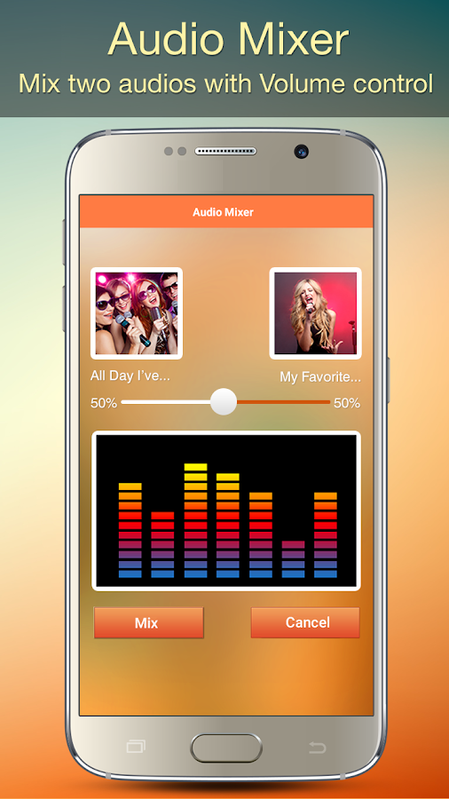 Audio MP3 Cutter Mix Converter and Ringtone Maker Screenshot 4