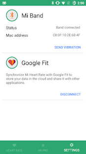 Mi Heart Rate - be fit Screenshot