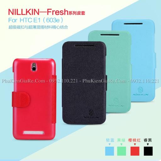 Bao da HTC Desire 501 hiệu Nillkin Fresh