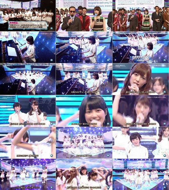 (TV-Music)(1080i) Nogizaka46 part – Music Station 141017