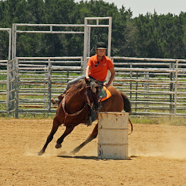 by Christy Sylvest - Sports & Fitness Rodeo/Bull Riding