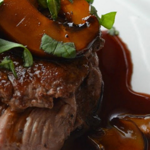 Beef Tenderloin Medallions with Madeira Wine Pan Sauce