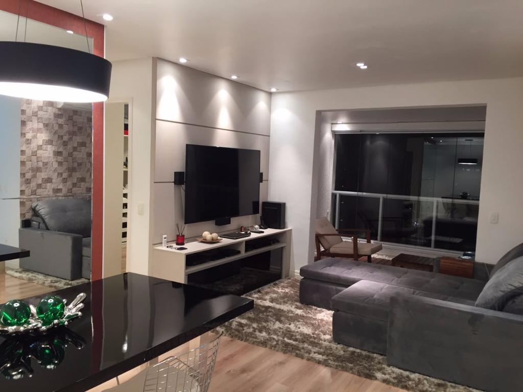 Apartamento residencial para locação, Anália Franco, São Pau