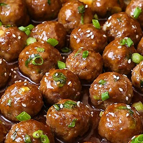 Saucy Teriyaki Meatballs
