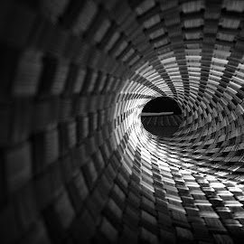 TUNNEL by Agustinus Tri Mulyadi - Abstract Patterns ( abstract, tunnel,  )
