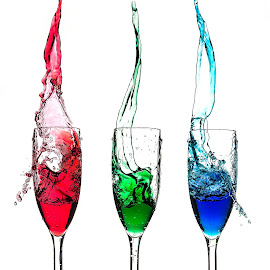 Trio Splash by Muhannad Salem - Artistic Objects Glass ( splash )