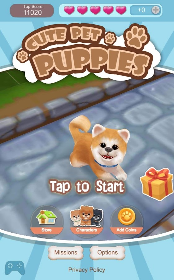 Cute Pet Puppies Screenshot