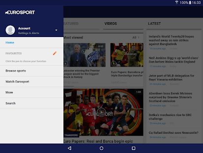 Download Eurosport APK to PC