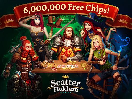 Scatter HoldEm Poker - Online Texas Card Game For PC