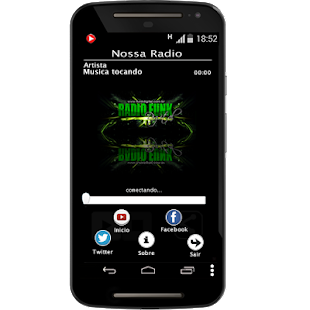 Radio Funk Digital - screenshot