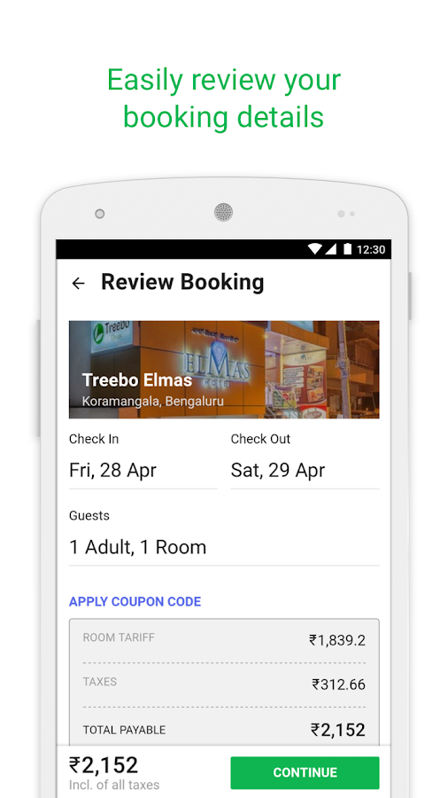 Treebo – Hotel Booking App Screenshot 3