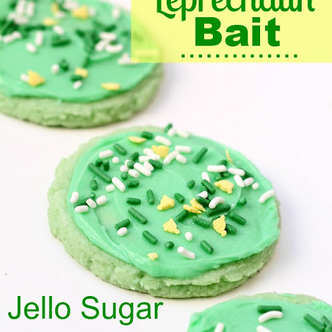 Jello Sugar Cookies {Leprechaun Bait} {TMH}