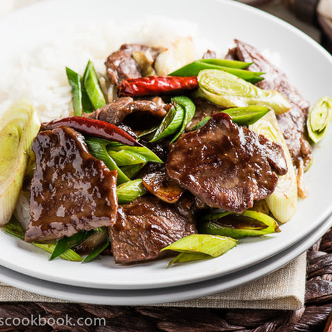 Scallion Beef Stir Fry (葱爆牛肉)