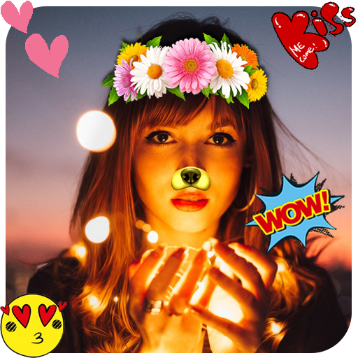 New Flower Crown Stickers Photo Editor (app)