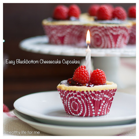 Easy Black-bottom Easy Cheesecake Cupcakes