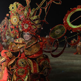 Batik Carnivale by Ändreas Bagio - People Musicians & Entertainers