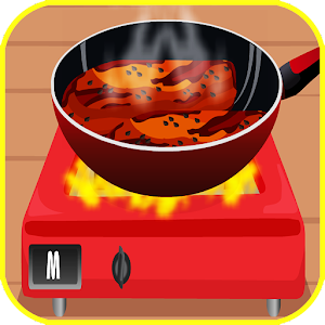 Game For Kids Cooking Meat