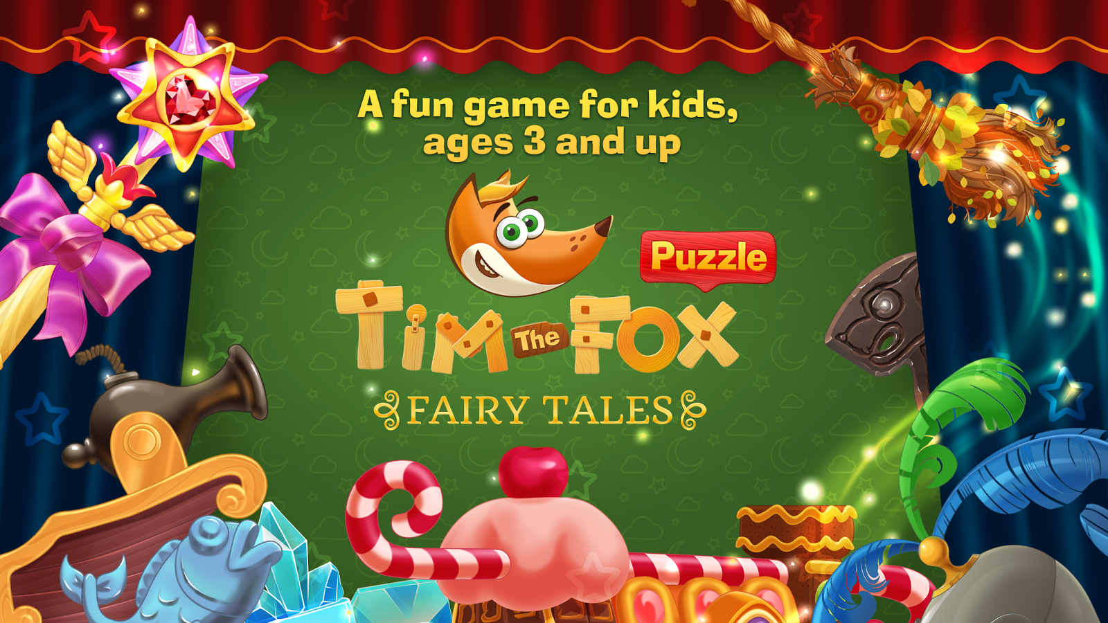 Tim the Fox - Puzzle Tales Screenshot 0