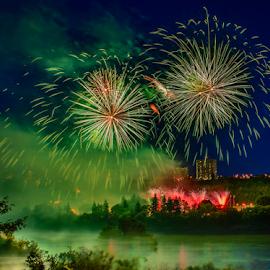 Firework work Celebration by Joseph Law - Public Holidays July 4th