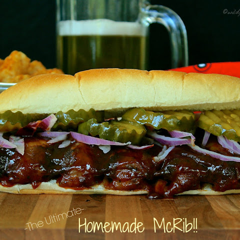 The Ultimate Homemade McRib Sandwich