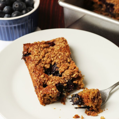 Spiced Blueberry Coffeecake