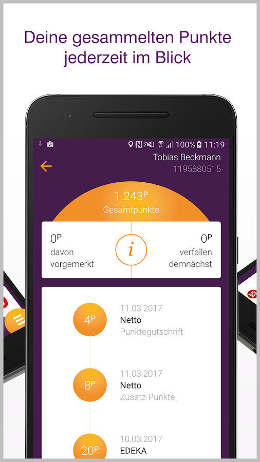 DeutschlandCard Screenshot 2
