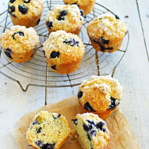 Blueberry Ricotta Muffins with Lemon Sugar Topping and Mountain Biking in the Deschutes National Forest