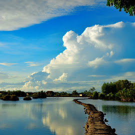 Way to the sky by Syamsul Alam - Landscapes Beaches