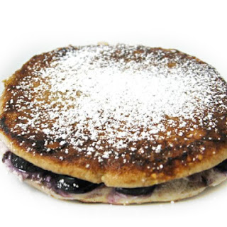 Skinny Blueberry Stuffed French Toast