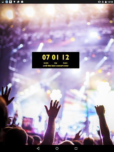 Countdown Widget - screenshot