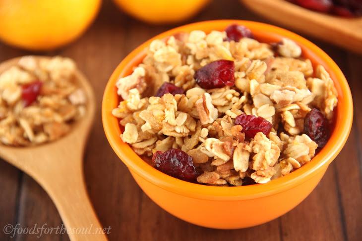 Cranberry Orange Pecan Granola Recipe | Yummly