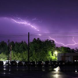 Lightning by Tony Bendele - Landscapes Weather ( lightning, thunderstorm )