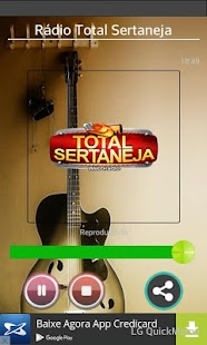 Rádio Total Sertaneja - screenshot