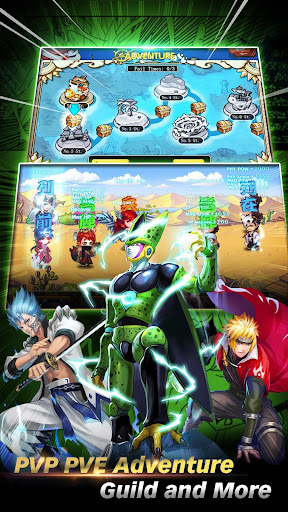 Anime Heroes Saga - screenshot