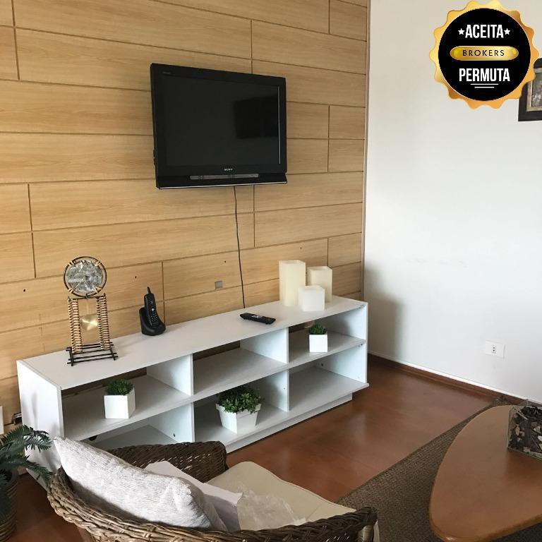 Apartamento à venda, 95 m² por R$ 480.000,00 - Nova Gerti - São Caetano do Sul/SP