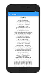 The Beatles 30 Top Song Lyrics - screenshot