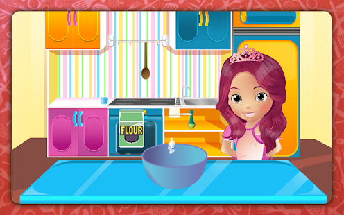 Muffins cooking - screenshot