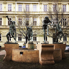 'I dance because there is no greater feeling in the world then moving to a piece of music and letting the rest of the world disappear...' I can't remember the author of this piece but it perfectly sums this piece I stumbled across in Prague... by Anita Louise - Buildings & Architecture Statues & Monuments