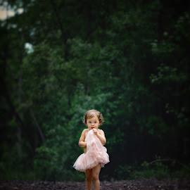 Lotte by Beth Ann - Babies & Children Child Portraits ( girl, tutu, trail, curls, pink )