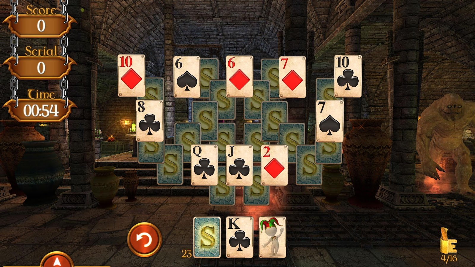 Solitaire Dungeon Escape 2 Screenshot 4