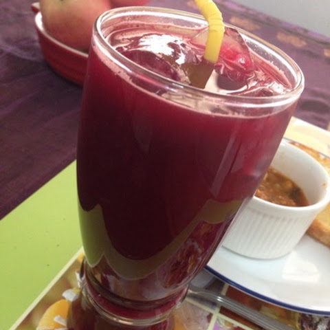 Beet-lemongrass Juice